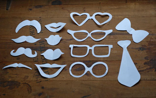 DIY Photo Booth Props