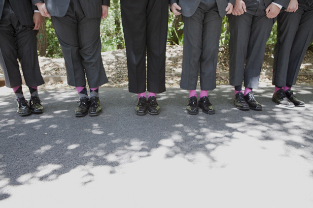groomsmen shoes & socks
