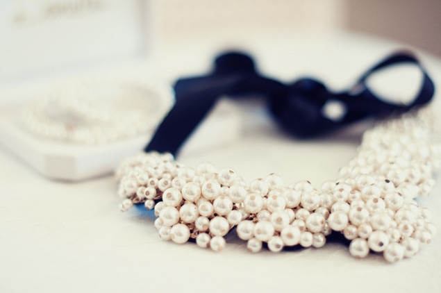 statement wedding necklace