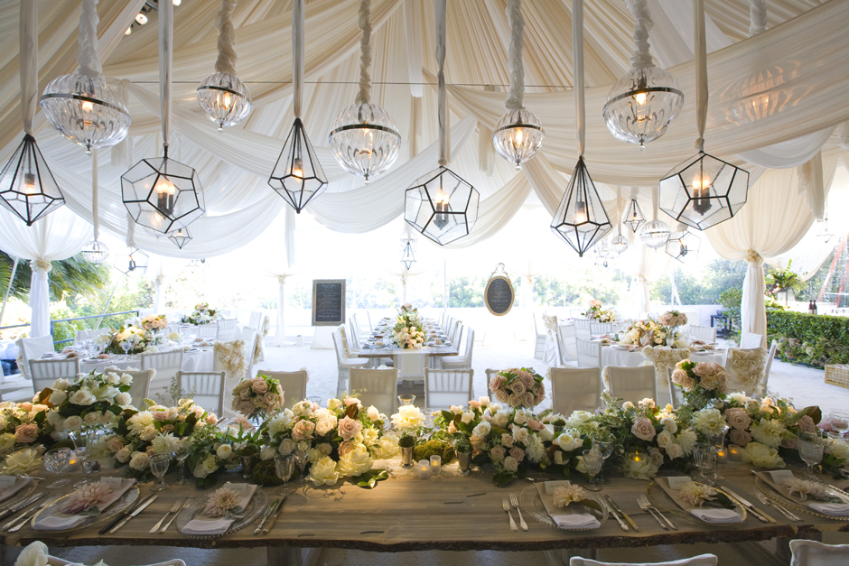 Wedding Decor: Hanging Details