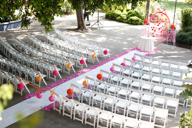 Wedding Ceremony Seating