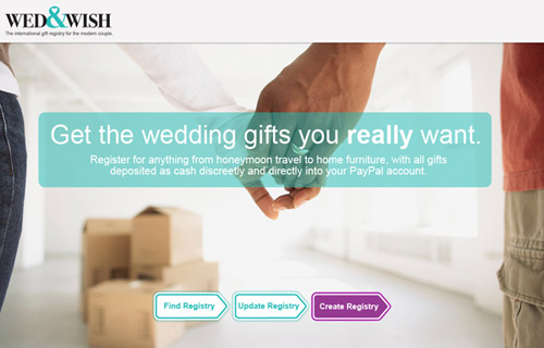 Wed&Wish Wedding Registry
