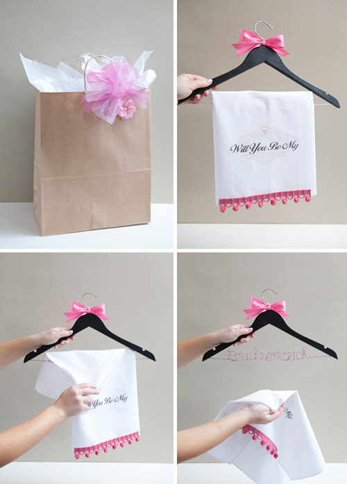 diy will you be my bridesmaid ideas