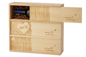 custom wine trunk