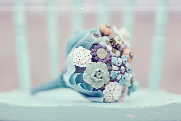 Doorknob Wedding Bouquet
