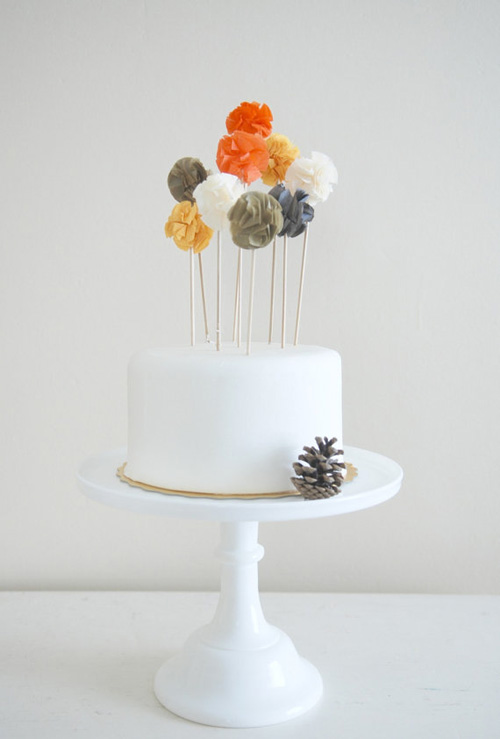 Simple Cake Decorations For Birthdays : Wedding Cake Toppers: Buy or DIY Options!
