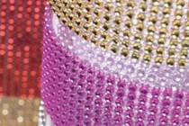 rhinestone ribbon wrap