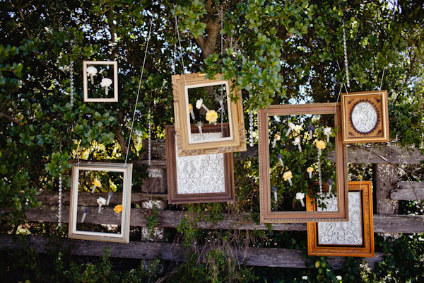 wedding frame decor