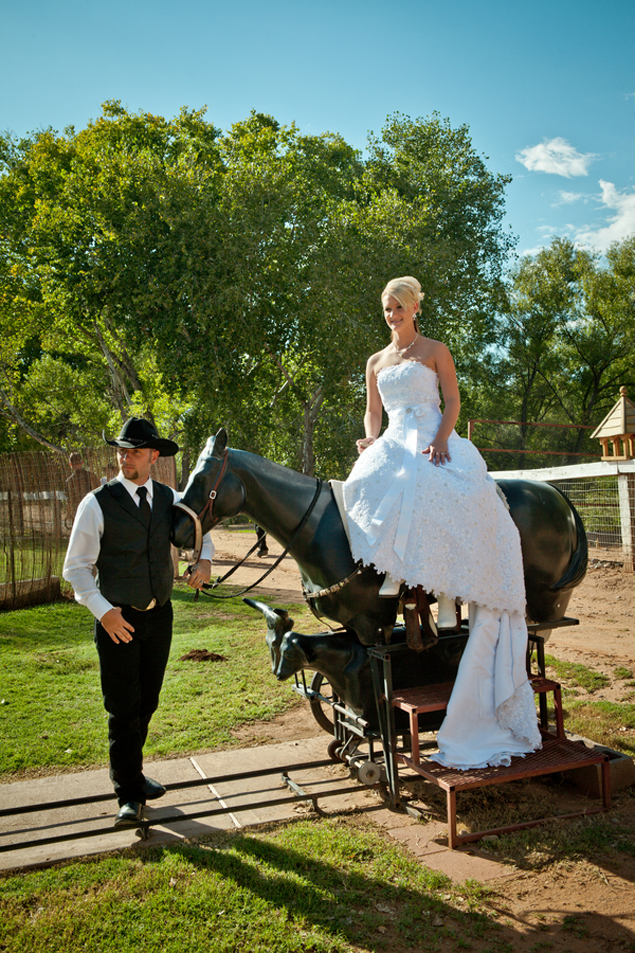 Ranch Wedding Portraits