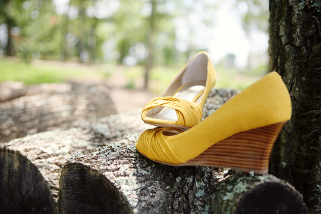 Yellow Wedding Wedges
