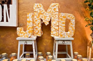 Wedding Monogram Displays