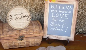 Alternative Guestbook Giveaway