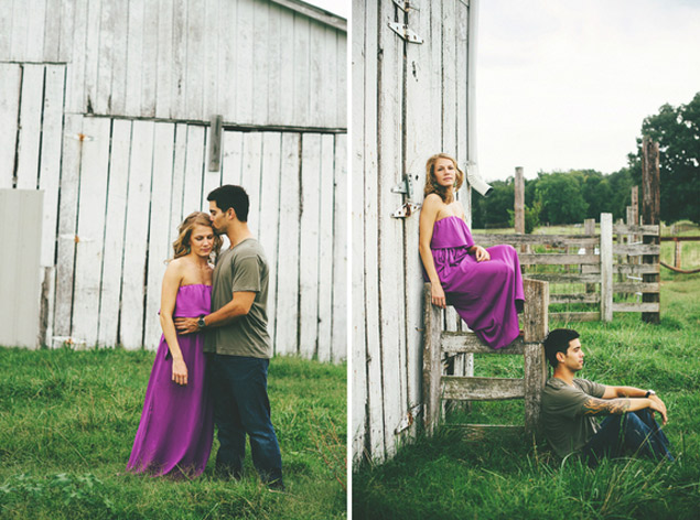 Rustic Tennessee Engagement