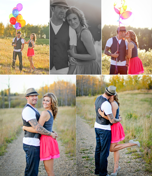 Balloons Engagement Shoot