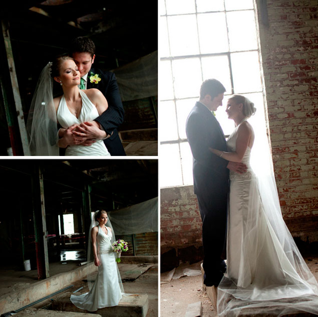 Warehouse Wedding Portraits