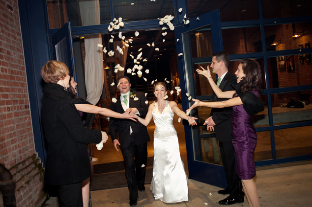 Wedding Exit Flower Petals