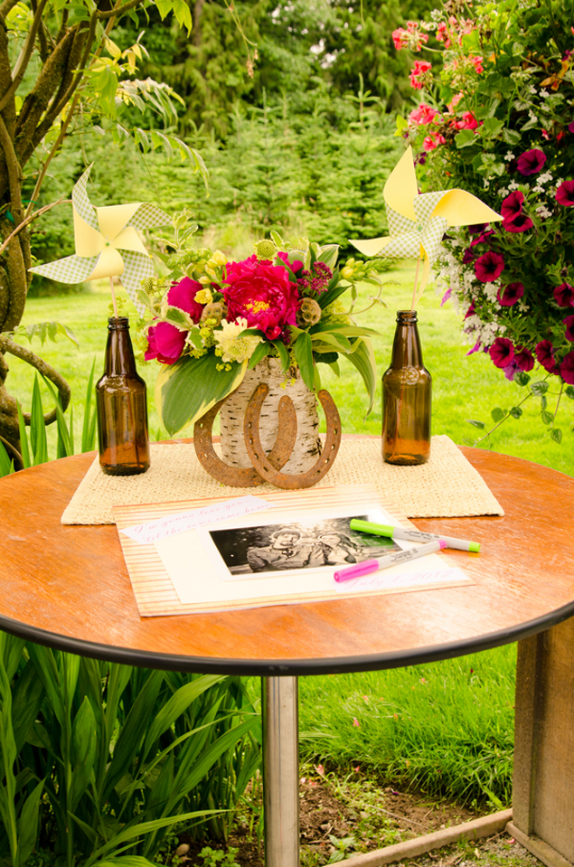 Country Wedding Guest Book