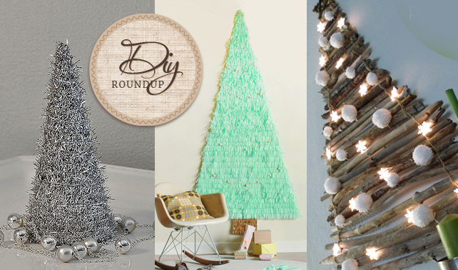 10 DIY Christmas Trees Ideas And Tutorials