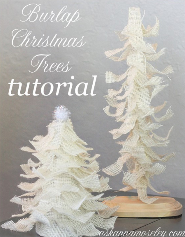 DIY Christmas Tree Tutorial
