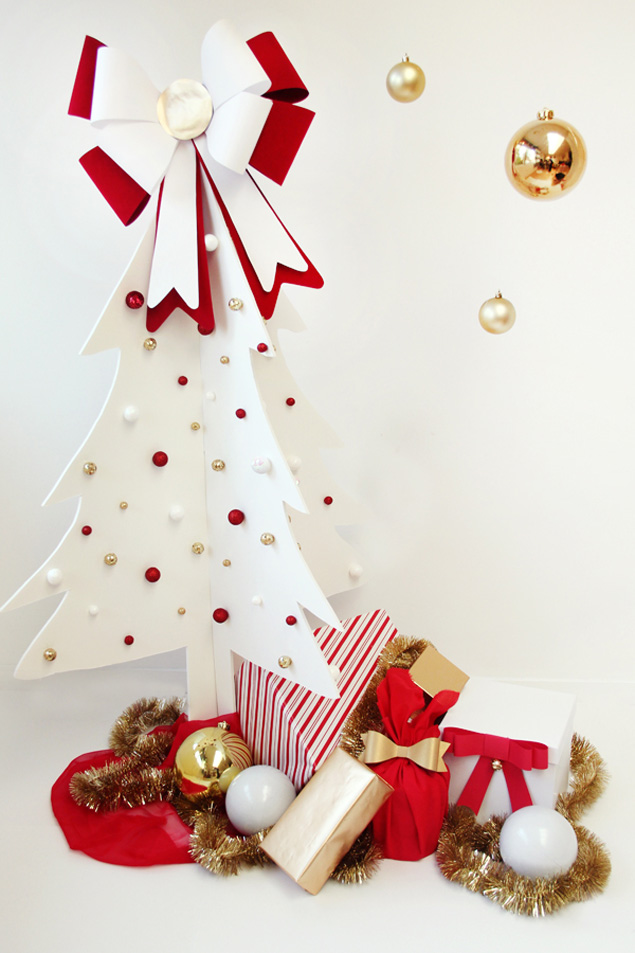 Christmas Tree Ideas Diy : Diy christmas trees ideas and tutorials