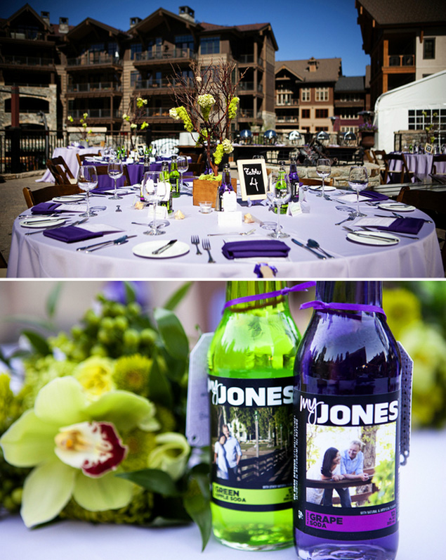 Devrin ryans lime green and purple wedding photo source kendall price photographypin it junglespirit