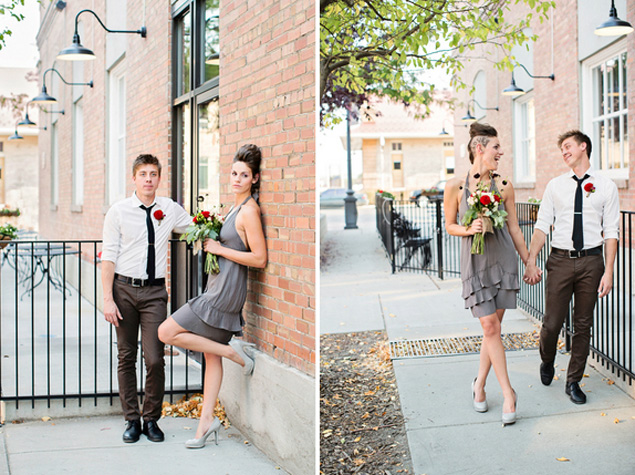 Modern Urban Wedding Shoot