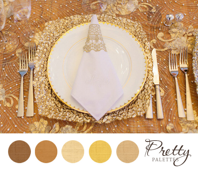 Champagne Wedding Colors