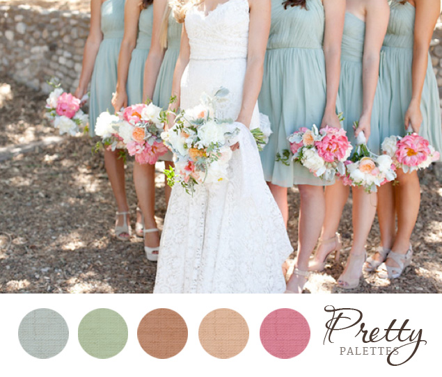 Pretty wedding color palette 19 photo source sean walker photographypin it junglespirit