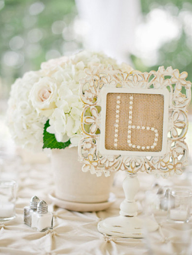 Table Numbers Inspiration