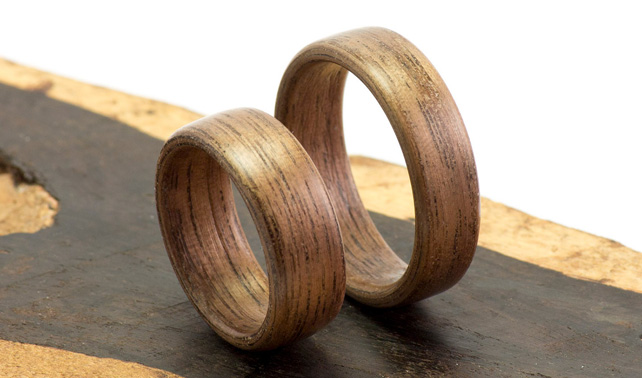 Faux Wedding Rings