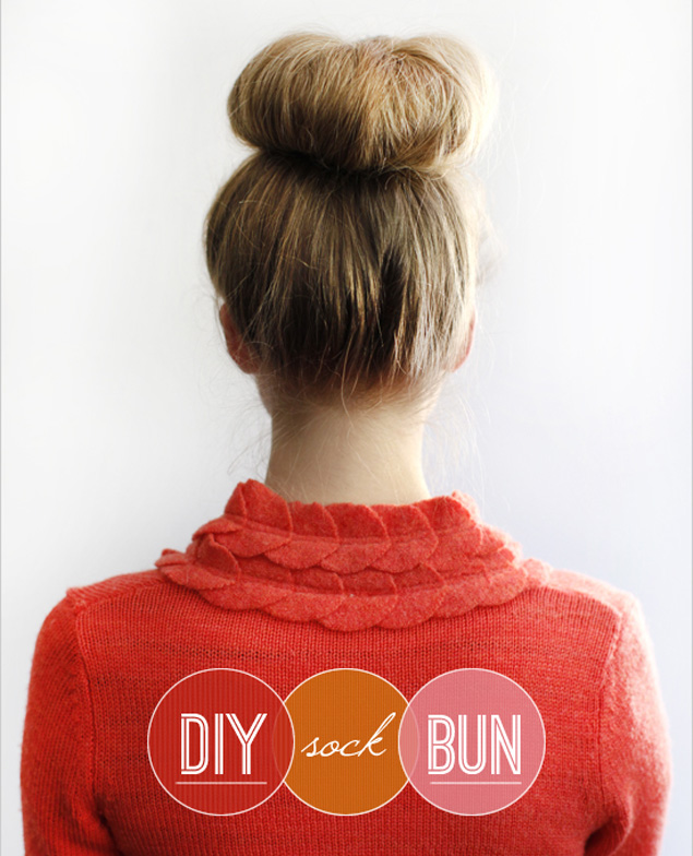 DIY Sock Bun Tutorial