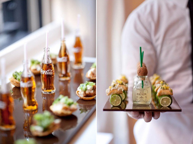 Mini Wedding Foods