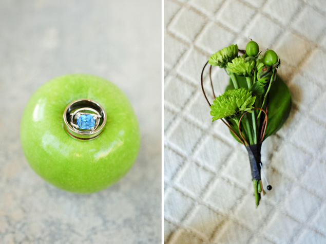 Lime Green Wedding Details