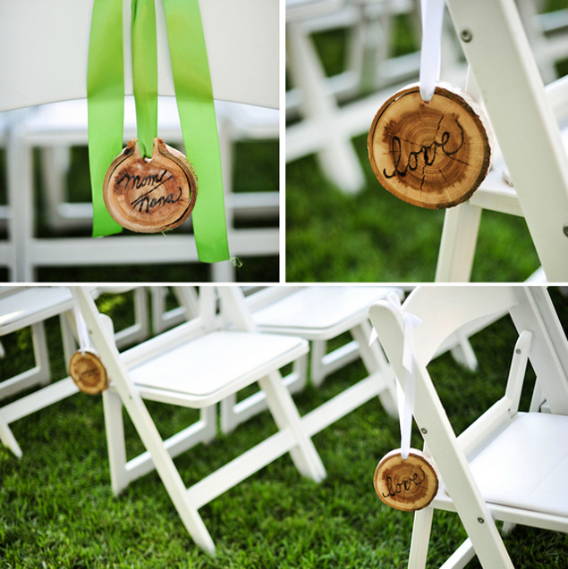 DIY Ceremony Decor