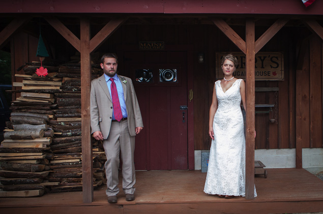 Rustic Maine Wedding