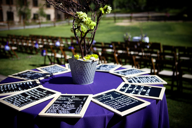 Wedding Chalkboard Seating Charts