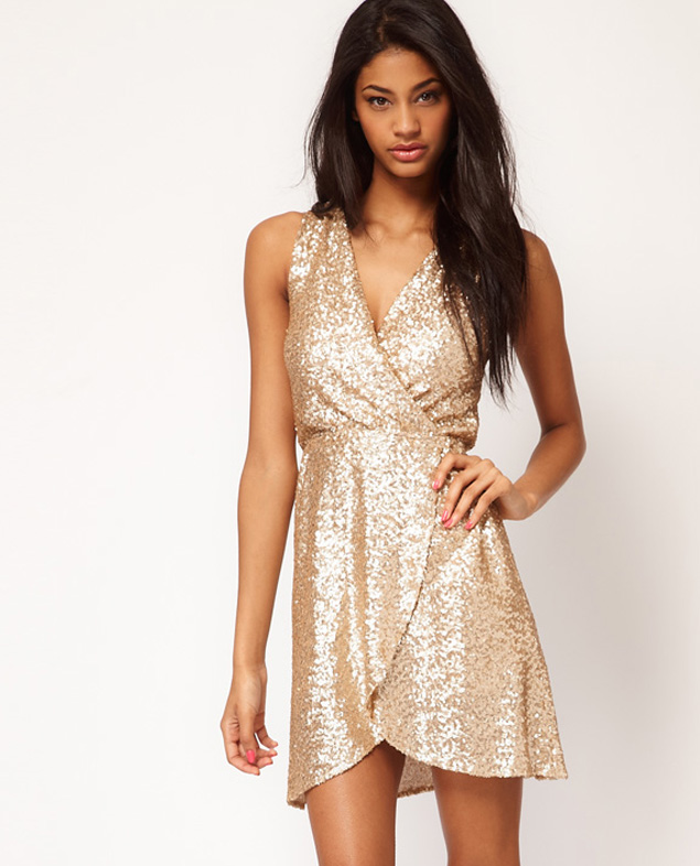 Gold party dresses for the holidays 635x786 jpeg