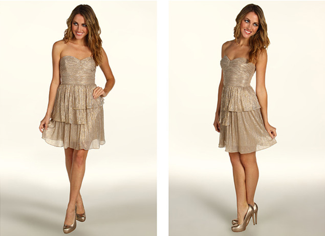 gold holiday dresses - Dress Yp