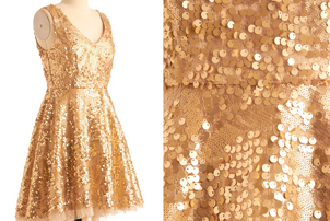 GoldPartyDress