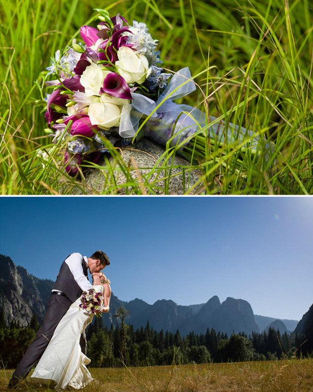 Wedding at Yosemite National Park