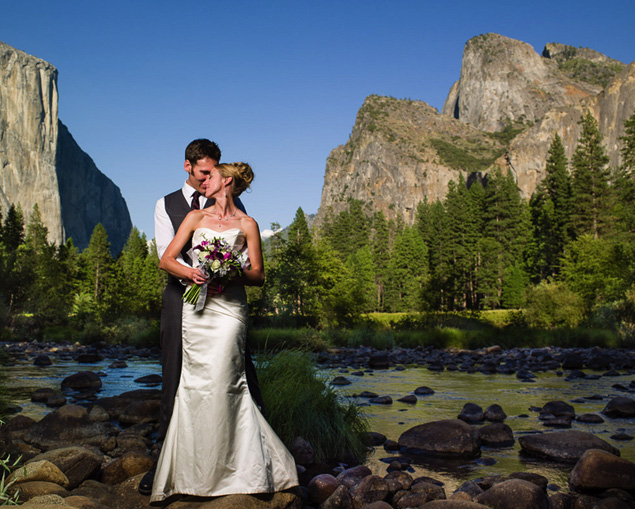 Wedding at Yosemite