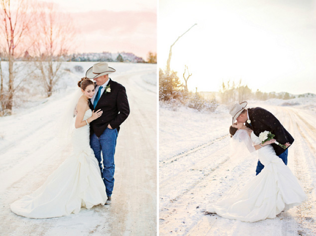 Intimate Winter Wedding