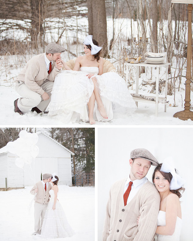Stylish Inspiration for the Winter Groom