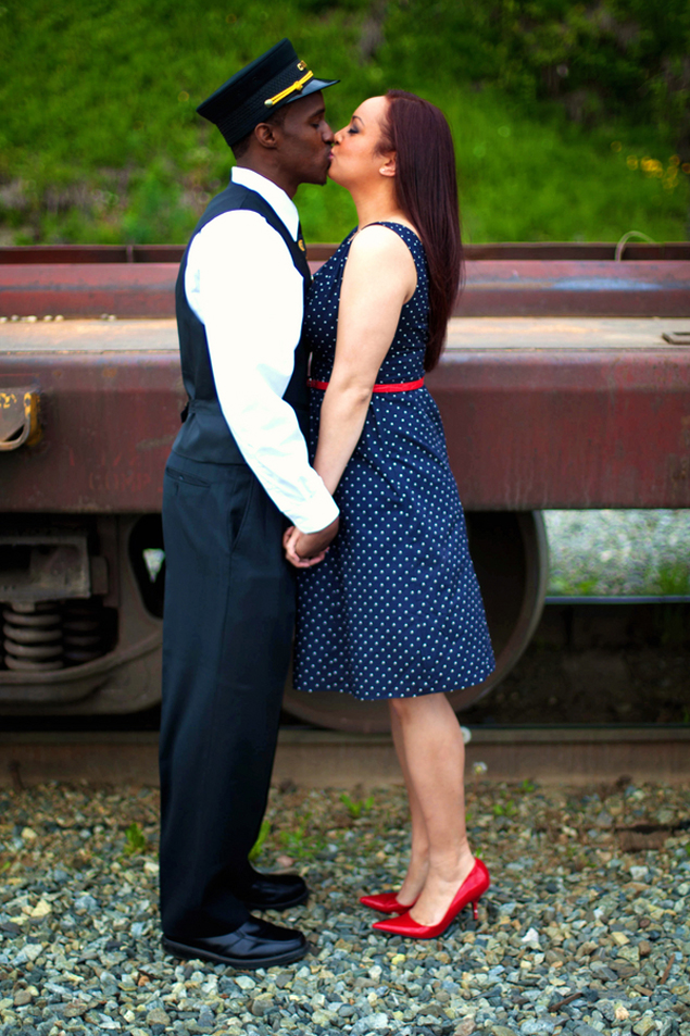Themed Engagement Shoot