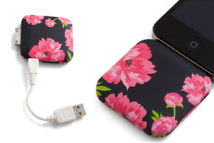 Blossom iPhone Charger