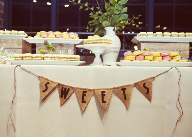 Wedding Sweets Table Banner