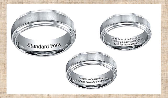 E Wedding Bands.Wedding Bands E Wedding Bands