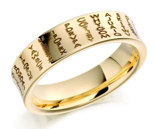 Engraved wedding bands for Wedding ring engraving