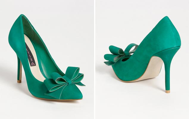 Emerald Green Wedding Heels