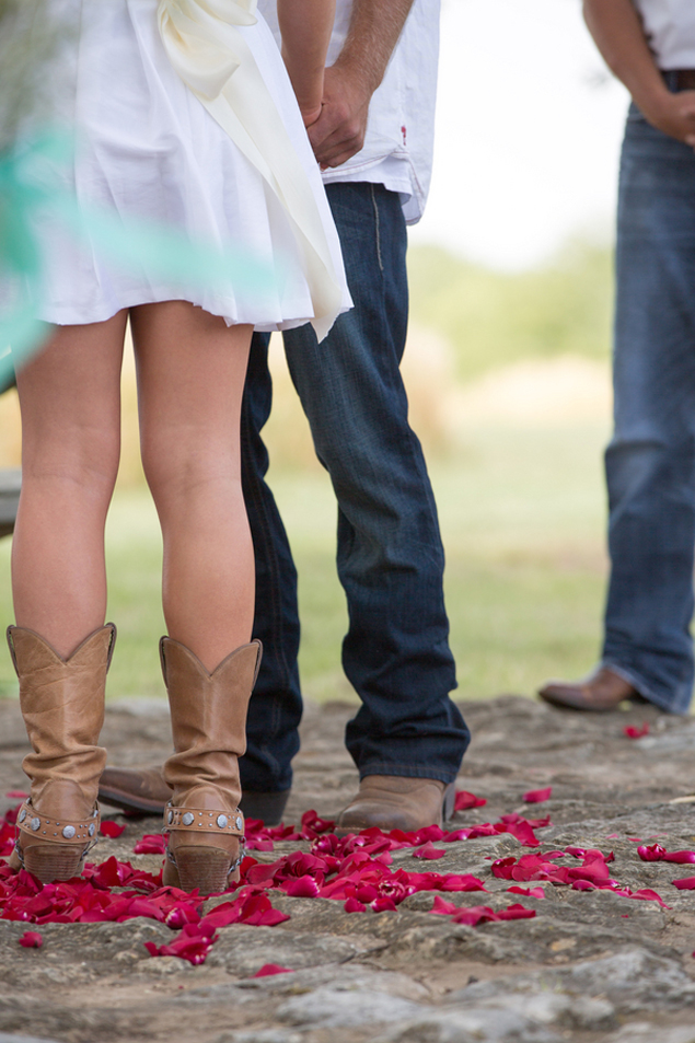 Cowgirl Wedding Boots